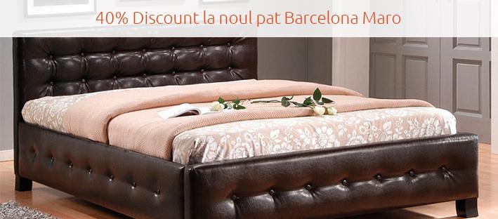 40% discount la noul pat Barcelona